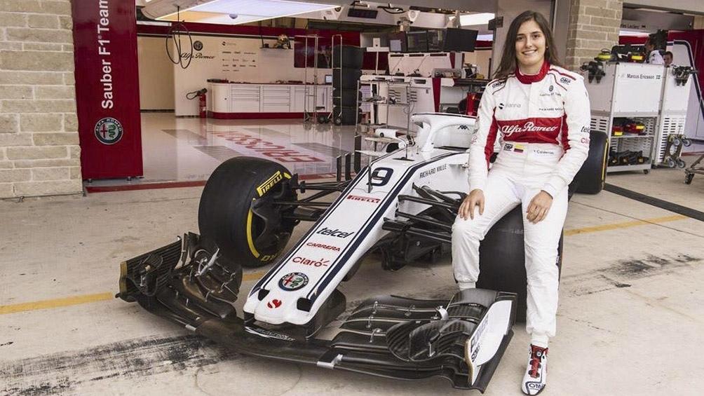 Tatiana Calderón cumplirá su sueño: conducirá un carro de Fórmula 1
