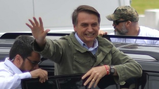 Haddad y Bolsonaro votaron en un clima de gran expectativa