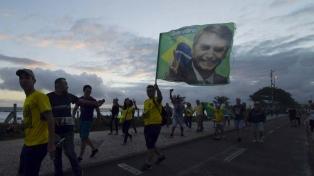 La extrema derecha sale a las calles para apoyar a Bolsonaro