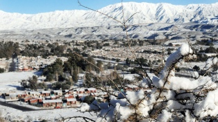 Alerta por nevadas intensas en la cordillera de Los Andes, Mendoza y Neuquén