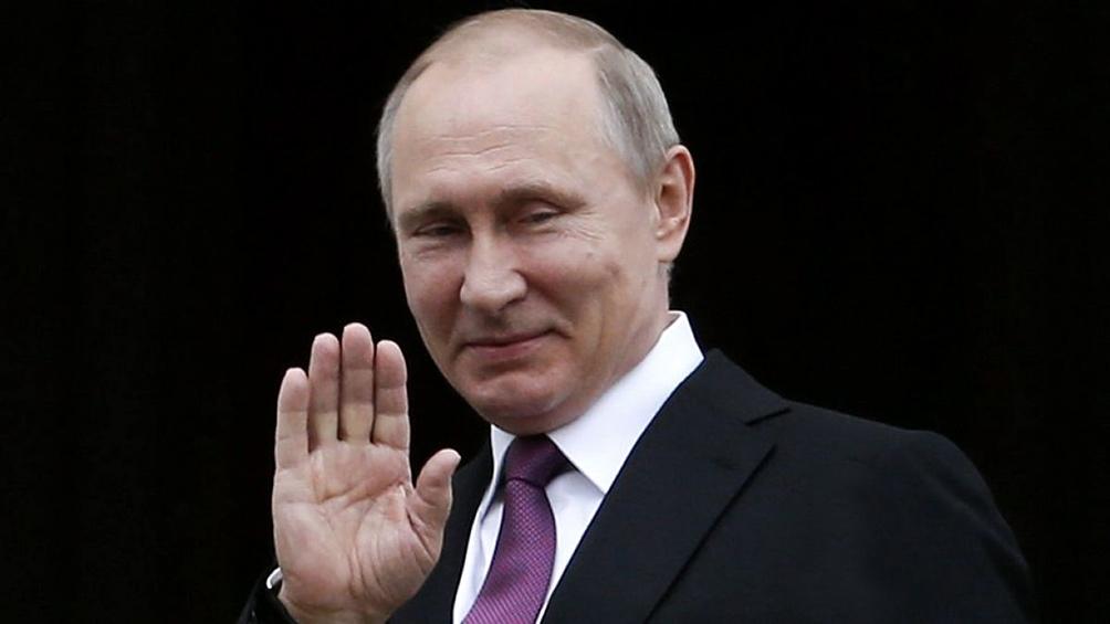 Vladimir Putin, presidente de la Federación de Rusia desde mayo de 2012