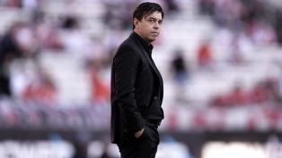 """Gallardo: """"El morbo sobre un cruce con Boca queda para la prensa"""""""