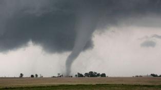 Un tornado afectó a la localidad de Juan Llerena