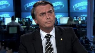 Bolsonaro se negó a responder sobre un supuesto conflicto con Egipto por la embajada en Jerusalén