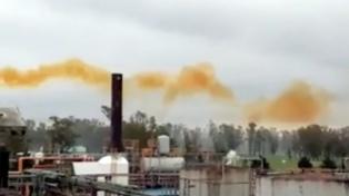 Alarma por un escape de gas nitroso en la Fábrica Militar de Río Tercero