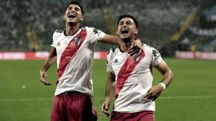 River lo dio vuelta en Brasil y es finalista