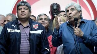 """Hugo Moyano: """"Mi sucesor en el movimiento sindical será Pablo"""""""