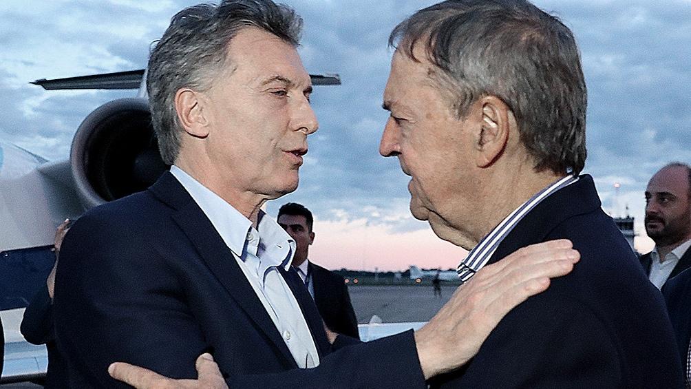 Macri encabeza junto a Schiaretti una reunión de gabinete ampliado en Córdoba