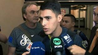 Boca regresó al país tras clasificar anoche en San Pablo