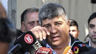 Pablo Moyano dijo que no aparece en ninguna denuncia en la causa del club Independiente