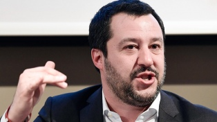 """En medio de altas tensiones, Salvini asegura que no quiere """"pelear"""" con Francia"""
