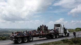La caravana de migrantes continúa su marcha hacia Estados Unidos
