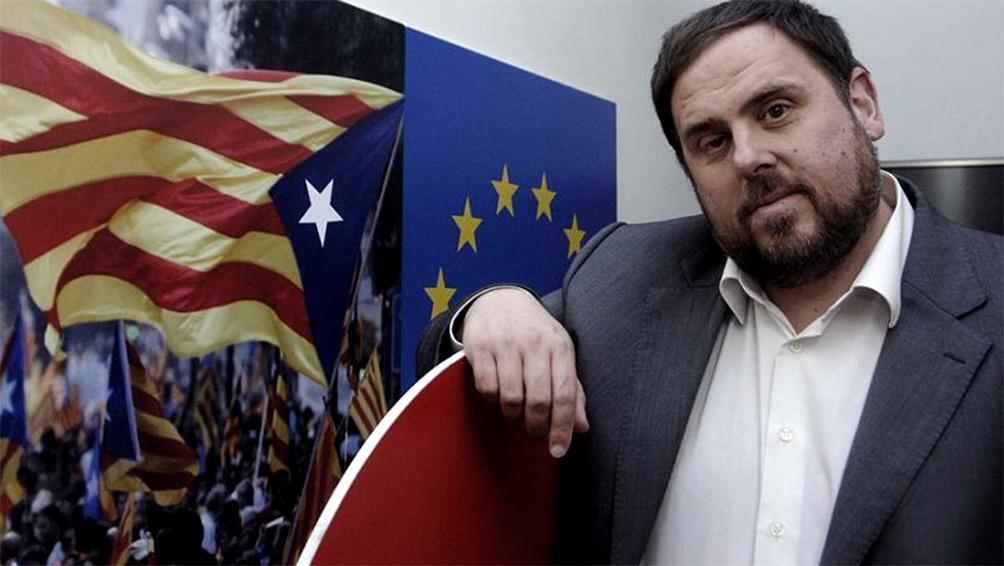 El ex vicepresidente catalán Oriol Junqueras.