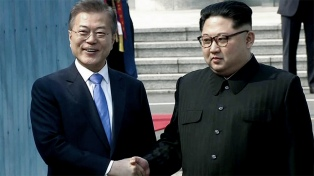 Las dos Coreas acordaron presentar una candidatura conjunta a los JJOO