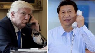 """Consideran """"extremadamente positivo"""" el diálogo telefónico entre Trump y Xi Jinping"""