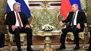 Putin promete ayudar a La Habana a modernizar y reformar su economía