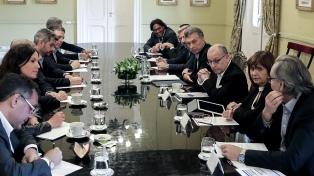 Macri encabeza una nueva reunión de Gabinete