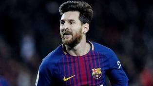 Lionel Messi terminó 2018 como el máximo goleador mundial