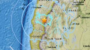 Un sismo de 5 grados Richter sacudió tres regiones del norte
