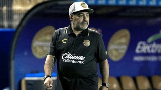 """Maradona fue suspendido una fecha en el ascenso """"azteca"""""""