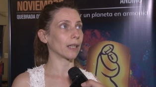 Elena Roger en el primer festival de Jujuy Corazón Andino