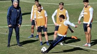 Boca prueba con el equipo que ganó la semifinal en San Pablo