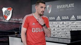 Armani fue convocado para el partido ante Alianza Lima