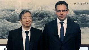 Sandleris analizó con su par chino la coyuntura financiera internacional