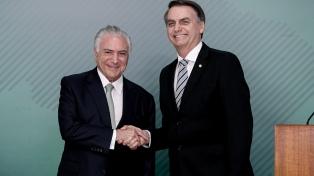 Temer promulgó una suba salarial para los jueces que había rechazado Bolsonaro
