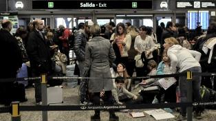 Más de 258 vuelos de Aerolíneas cancelados y 30 mil pasajeros afectados