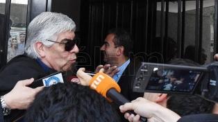 "Hugo Moyano pidió ""cambiar esta situación lamentable"""