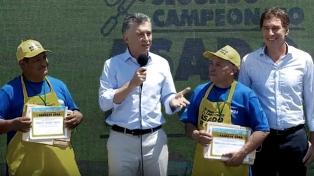 Macri destacó que la carne argentina volvió al mundo