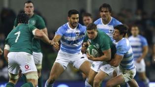 Los Pumas perdieron frente a Irlanda en el inicio de su gira por Europa