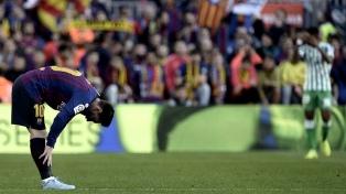 Messi quedó descartado para la visita de Barcelona a Osasuna