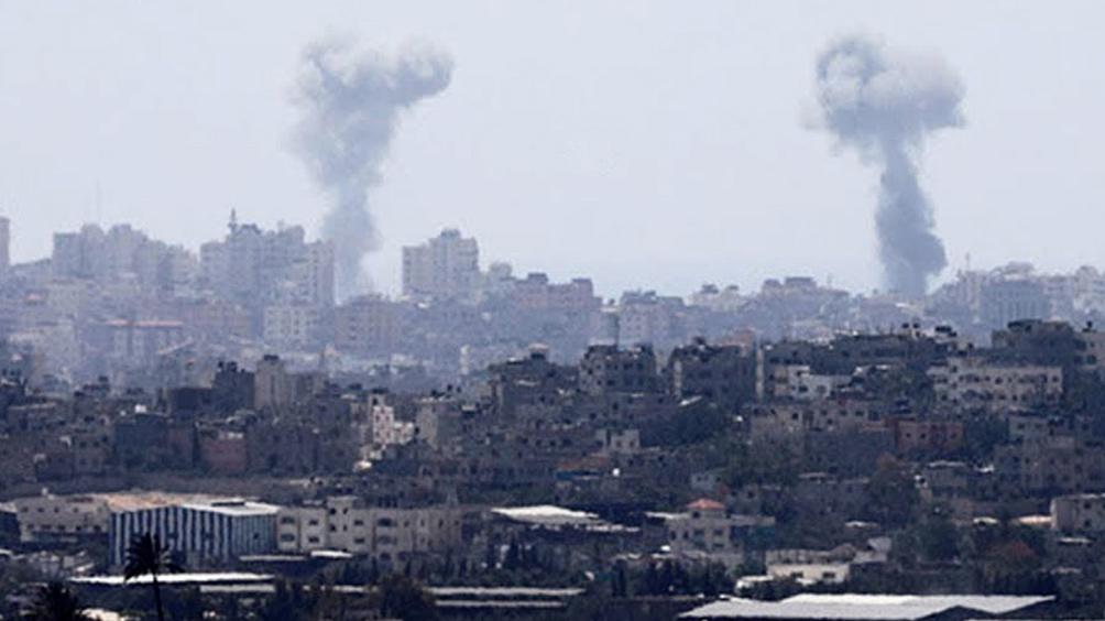 El Ejército ataca Gaza por el lanzamientos de proyectil y explosivos