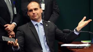 Hijo de Bolsonaro organiza una reunión de líderes conservadores americanos en la Triple Frontera
