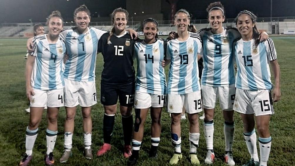 La selección femenina de fútbol va por el pasaje al Mundial ante Panamá -  Télam - Agencia Nacional de Noticias 68808304b63a8