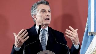 """Macri valoró la sanción del presupuesto y dijo que """"tenemos que empezar a ser serios"""""""
