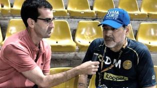 """Maradona acusó a Codesal de """"ladrón"""", 28 años después"""