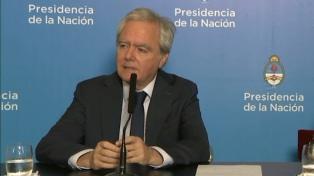 """Pinedo sostuvo que """"no tiene que ir un radical, pero puede ser un radical"""" quien acompañe a Macri"""