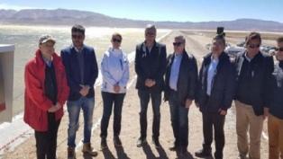 Se puso en marcha el proceso productivo del yacimiento de litio Olaroz-Caucharí