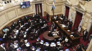 El Senado aprobó una decena de leyes en una hora