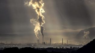Pidieron frente al Congreso políticas contra el cambio climático