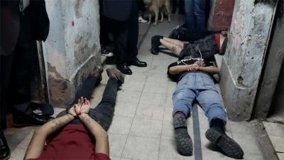 Diez detenidos en un allanamiento vinculado al atentado anarquista