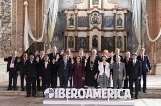 Comenzó la Cumbre Iberoamericana centrada en el cambio climático