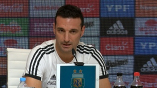 Scaloni será el técnico de la selección argentina hasta la Copa América de Brasil 2019