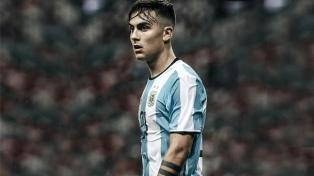Dybala conforma el ataque junto a Messi y Agüero para enfrentar a Chile