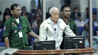 Condenaron a los dos últimos líderes vivos del genocidio del Jemer Rojo