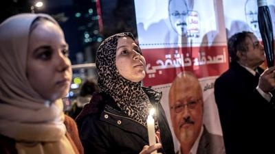 Celebraron un funeral simbólico del periodista asesinado en el consulado saudí