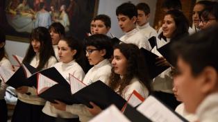 El Coro Nacional de Niños cantará folclore el 22 de noviembre